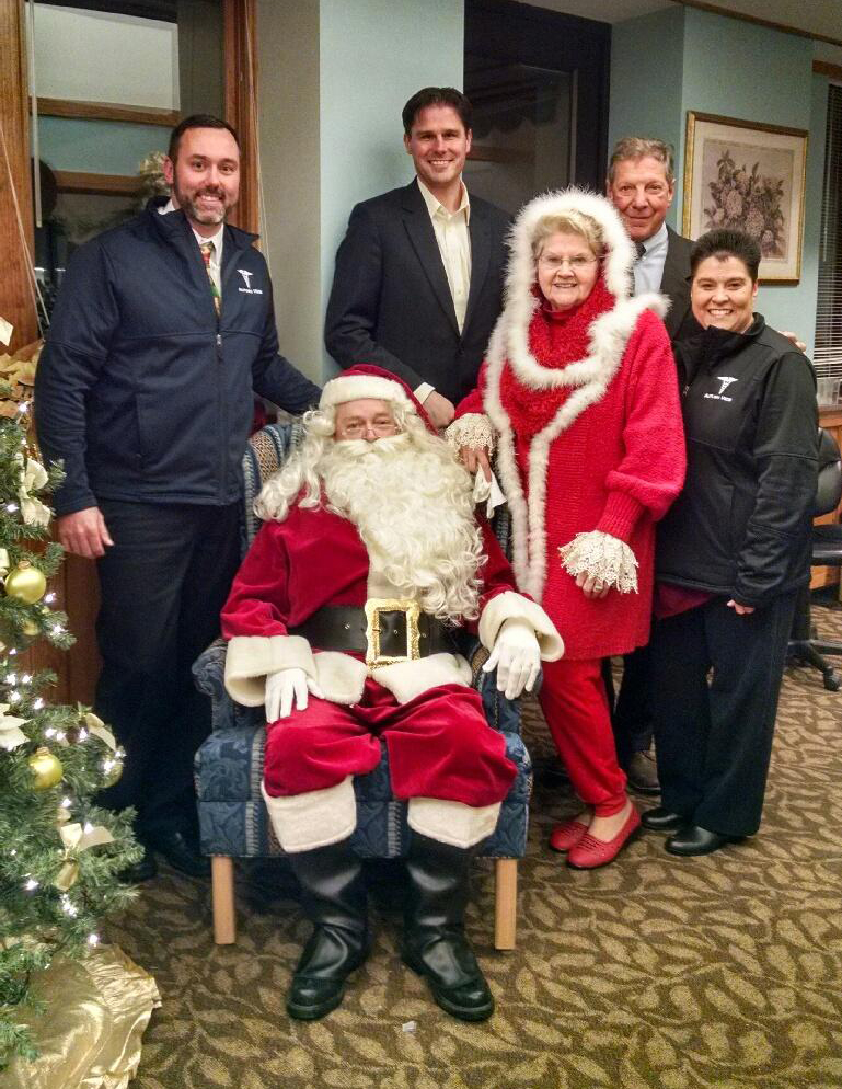The Claus Family Visits Autumn View for Annual Tree Lighting
