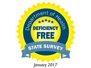 Deficiency Free Survey - January 2017